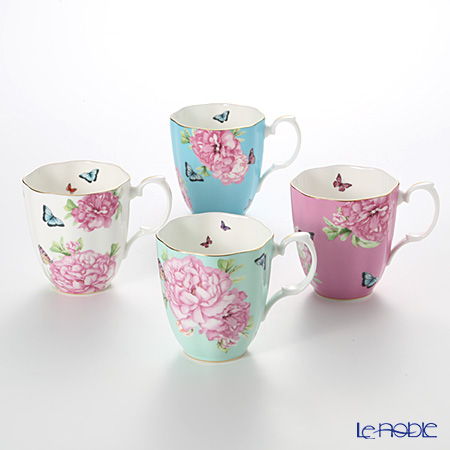 Royal Albert Miranda Kerr Friendship Mug - Set of 4 colors