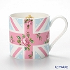 Royal Albert Cheeky Pink Modern Union Jack Mug with gift box