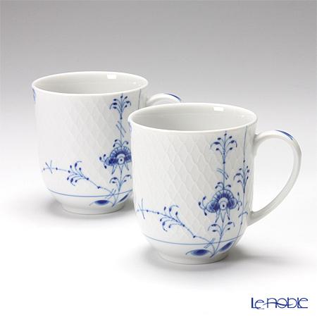 Royal Copenhagen Blue Palmette Mug, 28 cl (Set of 2) 2500497