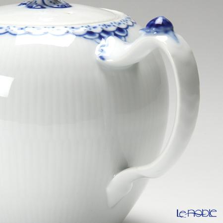ロイヤルコペンハーゲン(Royal Copenhagen) プリンセス ブルー2人用 ティー3点セット(ティーカップ&ソーサー×2&ティーポット×1)