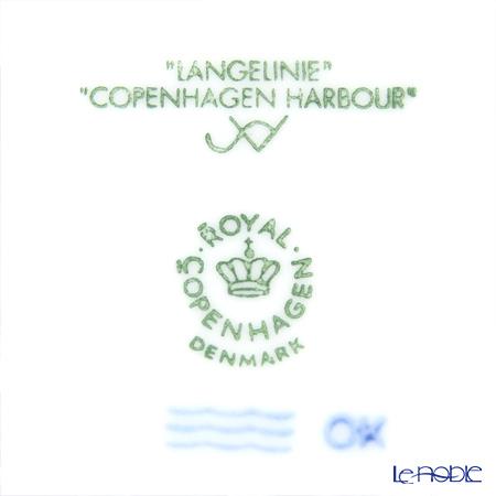 ロイヤルコペンハーゲン(Royal Copenhagen) イヤープレート2013年/平成25年 「Copenhagen Harbour」 ペア 【プレート立て2個付】