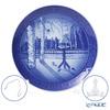 [Advance Sale] Royal Copenhagen Earplate 2021 / Reiwa 3 WINTER IN THE GARDEN Plate stand & with hanger