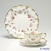 Royal Crown Derby Royal Antoinette Teacup & Saucer and Plate 21.5 cm