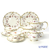 Royal Crown Derby Royal Antoinette 7 pcs. Tea set for 2