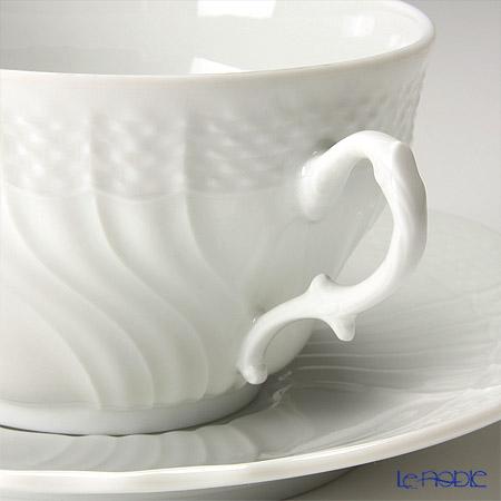 Ginori 1735 / Richard Ginori 'Vecchio Ginori' White Tea Cup & Saucer 240ml (set of 2)