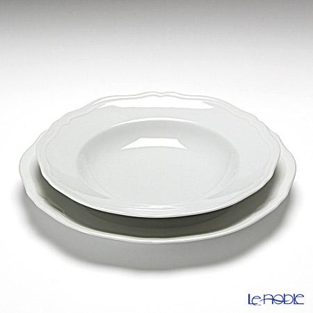 リチャードジノリ(Richard Ginori) アンティコ ホワイト スープセット
