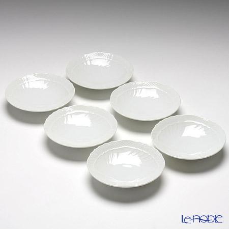 リチャードジノリ(Richard Ginori) ベッキオホワイト小皿 12cm 6枚セット