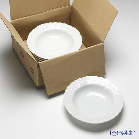 リチャードジノリ(Richard Ginori) ベッキオホワイト スーププレート 20cm 6枚セット 【業務箱】