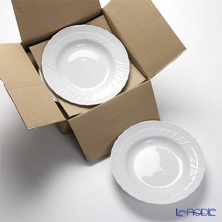 リチャードジノリ(Richard Ginori) ベッキオホワイト スーププレート 24cm 6枚セット 【業務箱】