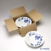 Richardsinori (Richard Ginori) rose blue Soup plate 24 cm 6 pieces business case:
