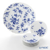 Richardsinori (Richard Ginori) rose blue 6 person party set.