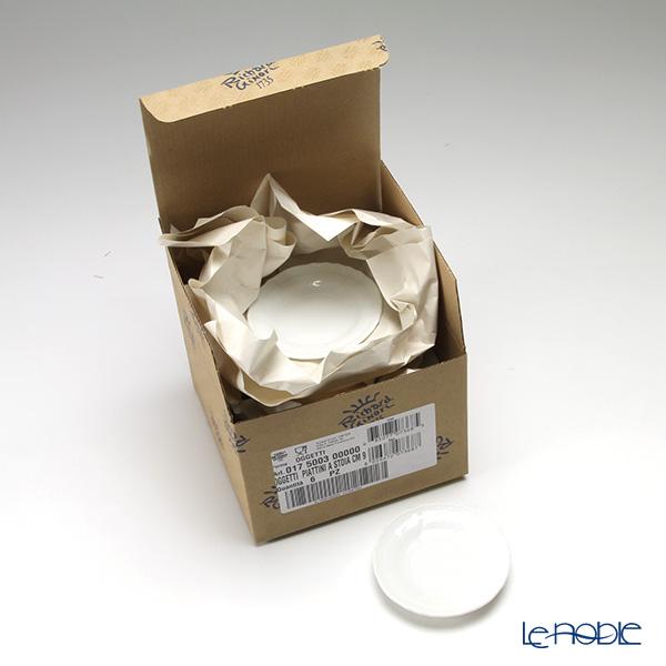 リチャードジノリ(Richard Ginori) ベッキオホワイト ミニプレート 10cm 6枚セット 【業務箱】
