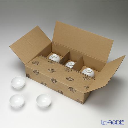 リチャードジノリ(Richard Ginori) ベッキオホワイト 菊型小鉢 6.5×3.5cm 6枚セット 【業務箱】