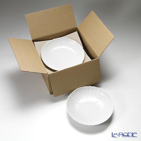 リチャードジノリ(Richard Ginori) ベッキオホワイト 盛り皿 21cm 6枚セット 【業務箱】