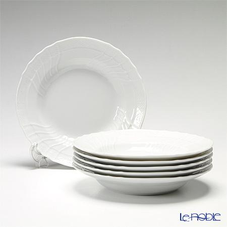 リチャードジノリ(Richard Ginori) ベッキオホワイト スーププレート 24cm 6枚セット
