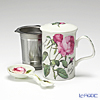 Roy Kirkham Redoute Rose Infuser Mug with Teabag Spoon
