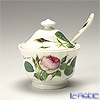 Roy Kirkham Redoute Rose Sugar Bowl with Spoon