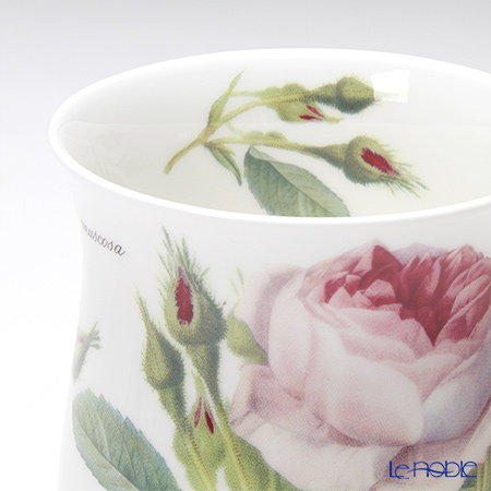 Roy Kirkham 'Redoute Rose (Flower)' Eleanor Mug with Infuser & Lid