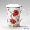 Roy Kirkham English Meadow Infuser Mug, red with gift box