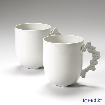 Rosenthal Studio-Line Landscape Weiß Mug with handle set of 2