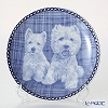 Dog family T/3003 Plate West Highland White