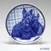 Scan Lekven 'Dog Family /  Scottish Terrier' 3009 Plate 19.5cm