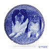 Dog family T/3019 Plate Rough Collie