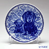 Scan Lekven 'Dog Family /  Dachshund - Shorthaired' 3043 Plate 19.5cm