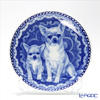 Dog family T/3070 Plate Smooth coat Chihuahua