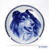 Dog plate T/75610 Tricolor Collie