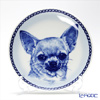 Dog plate T/75637 Smooth coat Chihuahua