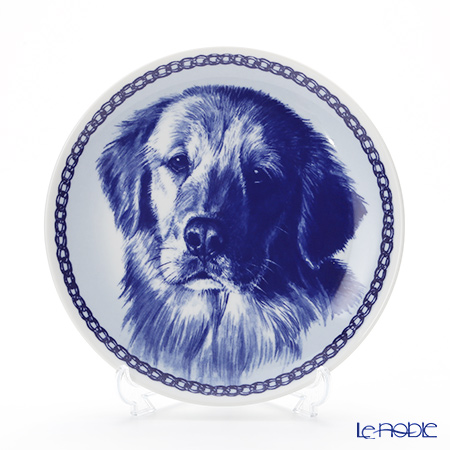 "Dog plate T/75642 Golden Retriever ""wall hook included"
