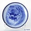 Dog plate T/75649 Pomeranian