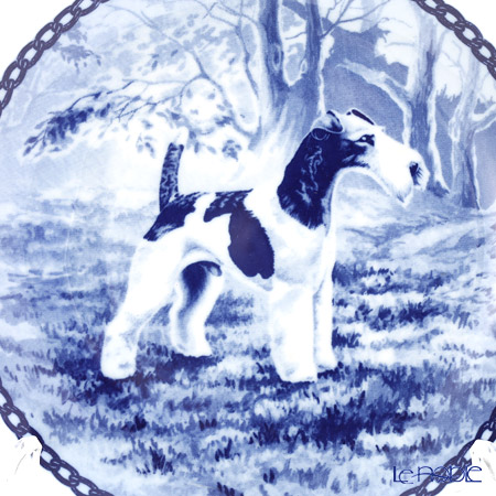 Scan Lekven 'Dog / Fox Terrier - Smooth' 7027 Plate 19.5cm
