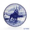 Dog plate T/7101 Schipperke