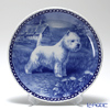 Dog plate T/7190 West Highland White Terrier