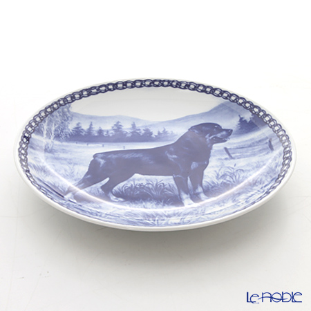 "Dog plate T/7195 Rottweiler ""wall hook included"
