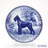 Dog plate T/7198 Schnauzer giant