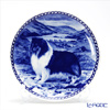 Dog plate T/7223 Wall Mount with of hook Tri rough Collie