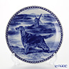 Dog plate T/7232 Irish setter