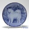 Scan Lekven 'Dog / Samoyed' 7261 Plate 19.5cm