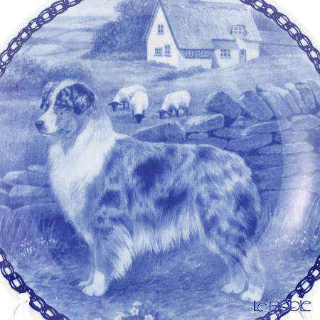 """Dog plate T/7294 Australian Shepherd Dog """"wall hook included"""