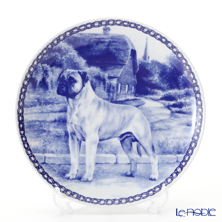 "Dog plate T/7299 Bullmastiff ""wall hook included"