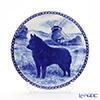 Dog plate T/7311 Schipperke