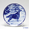 Dog & Cat Plate San-Lekven Design Dog Plate T/7312 Irish Setter with hunger Wall Mount hooks with Irish Setters