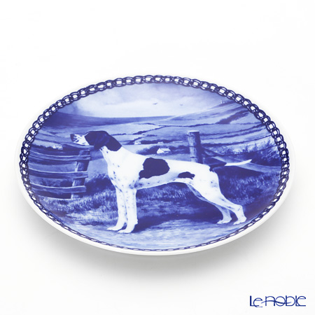 """Dog plate T/7316 Pointer """"wall hook included"""