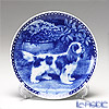 Dog Plate T/7318 Cavalier King Charles Spaniel plate with hunger Wall Mount hooks with キャバリエア