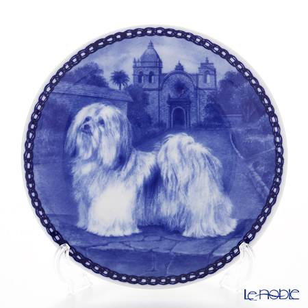 "Dog plate T/7353 Havanese ""wall hook included"