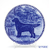 Dog plate T/7374 Flat coatedletriver