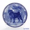 Dog plate T/7418 Black Pug